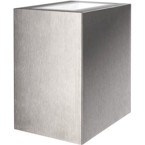 Massive 17209/47/10 - Luz de parede de casa de banho LED KAUNAS 1xLED/7,5W ocel IP44