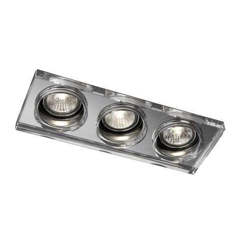 Massive 59563/11/10 - Luz encastrada de casa de banho SAPPHIRE 3xGU10/50W/230V