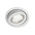 Massive 59600/31/10 - Luz encastrada de casa de banho MONO 1xGX53/9W/230V branco