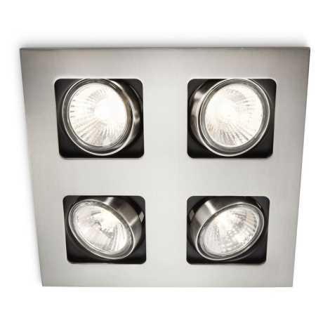 Philips 59304/17/16 - Luz encastrada de casa de banho MYLIVING ACAMAR 4xGU10/35W/230V