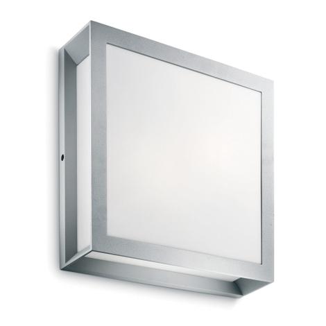 Philips - Luz de parede de exterior 2xE27/14W IP44