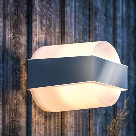 Philips - Luz de parede de exterior E27/42W IP44