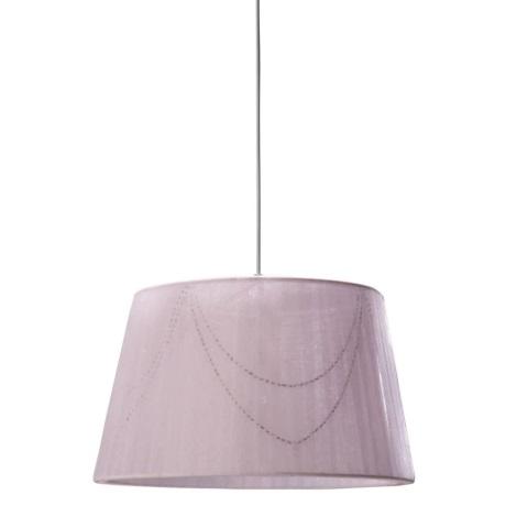 Philips Massive 40631/20/10 - Candelabro pendente LALI 1xE27/40W roxo