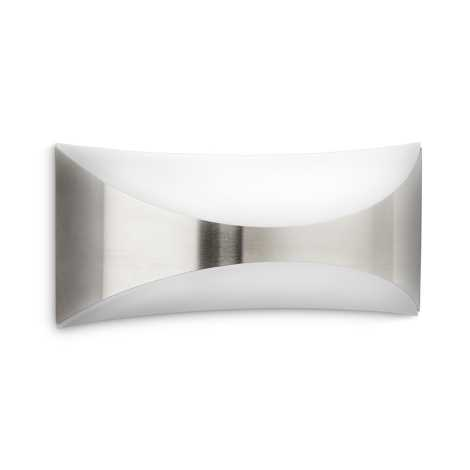 Philips Massive - Luz de parede de exterior 1xE27/23W/230V IP44