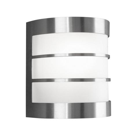 Philips Massive - Luz de parede de exterior 1xE27/60W IP44