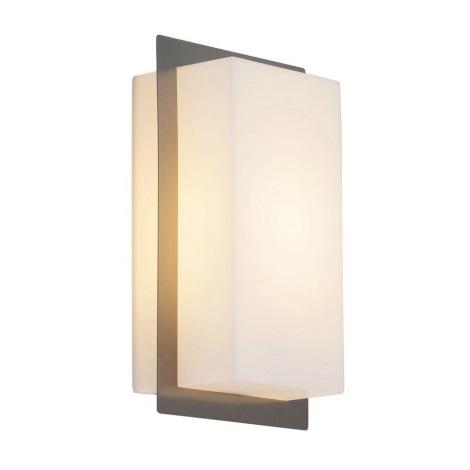 Rabalux 8095 - Luz de parede de exterior MUNICH 1xE27/11W/230V IP44 cromo