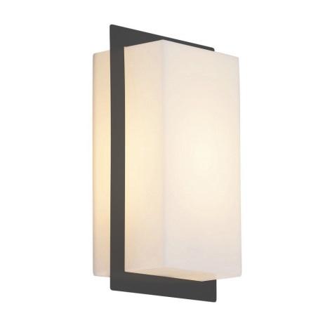 Rabalux 8097 - Luz de parede de exterior MUNICH 1xE27/11W/230V IP44 antracite
