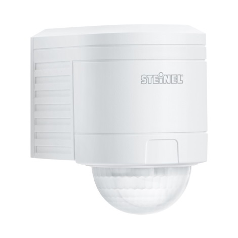 STEINEL 602215 - Sensor de infravermelhos exterior IS 300 branco IP54