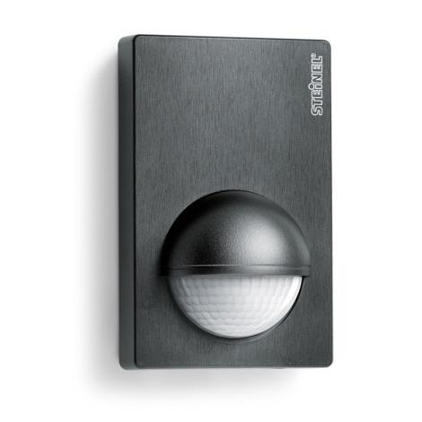 STEINEL 603113 - Sensor de movimento de exterior IS 180-2 preto IP54
