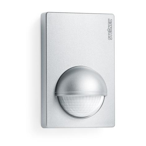 STEINEL 603618 - Sensor de movimento de exterior IS 180-2 aço inoxidável IP54