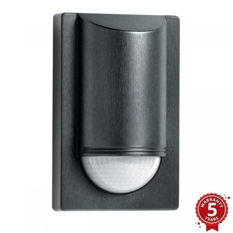 STEINEL 603717 - Sensor de infravermelhos exterior IS 2180 2 preto IP54
