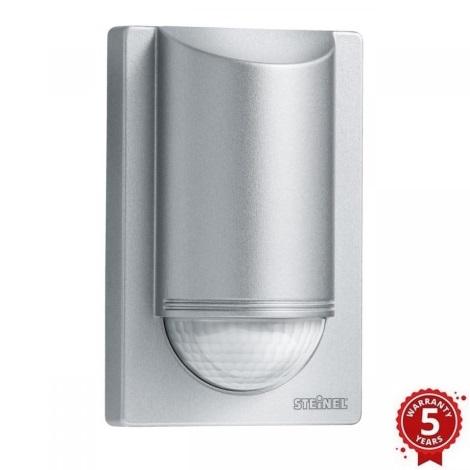 STEINEL 603915 - Sensor de Movimento por Infravermelhos Exterior IS 2180-2 Prateado IP54