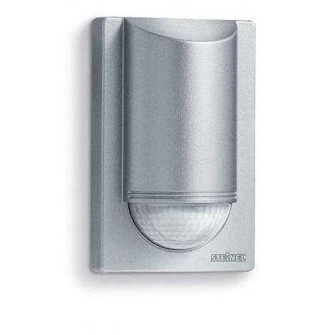 STEINEL 605810 - Sensor de infravermelhos exterior IS 2180-5 prateado IP54