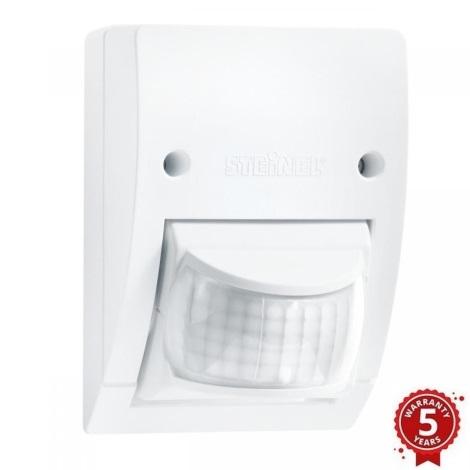 STEINEL 606015 - Detetor de Movimento por Infravermelhos Exterior IS 2160 branco IP54