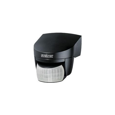 STEINEL 608811 - Sensor de infravermelhos exterior IS 140-2 preto IP54
