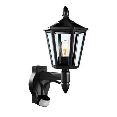 Steinel 617813 - Iluminação de parede exterior com sensor L 15 1xE27/60W/230V IP44