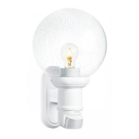 STEINEL 634315 - L 560 S lâmpada de parede com sensor branco para Exterior