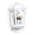 Steinel 644512 - Iluminação de parede exterior com sensor L 190 S 1xE27/100W/230V IP44