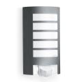 STEINEL 657819 - Iluminação exterior com sensor L12 1xE27/60W/230V IP44