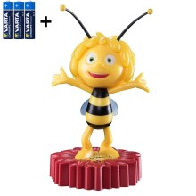 Varta 15635 - Candeeiro noturno de criança LED MAYA THE BEE LED/3xAA