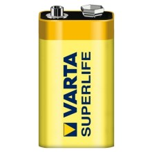 Varta 2022 - 1 pçs Bateria de zinco-carbono SUPERLIFE 9V